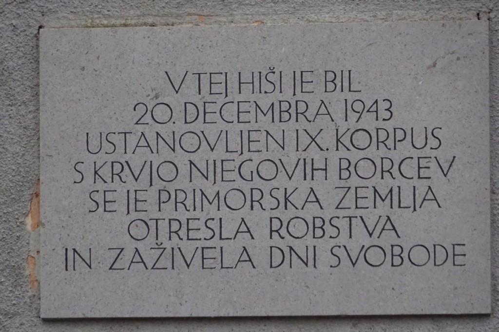 POHOD OB OBLETNICI USTANOVITVE IX.KORPUSA